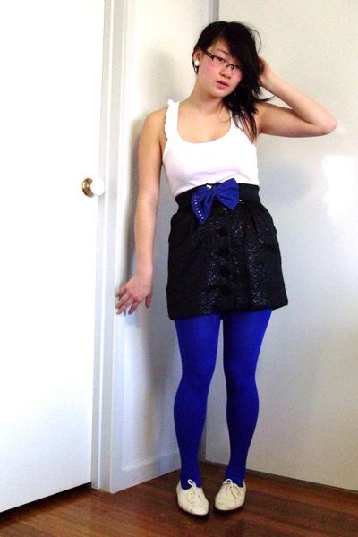 cotton on skirt - Jay Jays top - Sportsgirl belt - thrifted shoes - Sportsgirl s