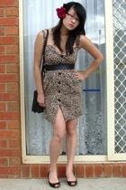 Sunny Girl dress - vintage belt - Alchemy shoes - tosca purse