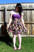 Target dress - Myer t-shirt - stockings - kayser tights