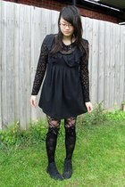 black lace Sunny Girl leggings - black from savers Grosby boots