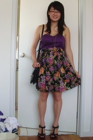 Free Fusion from Target Australia dress - tosca purse - Kmart shoes - diva acces