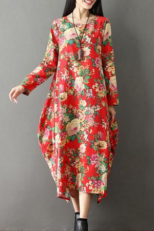 crimson Fashionmia dress - Fashionmia dress - Fashionmia dress