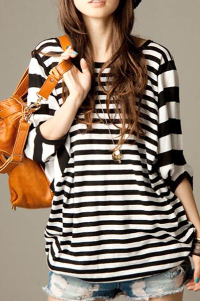 black autumn spring Fashionmia t-shirt