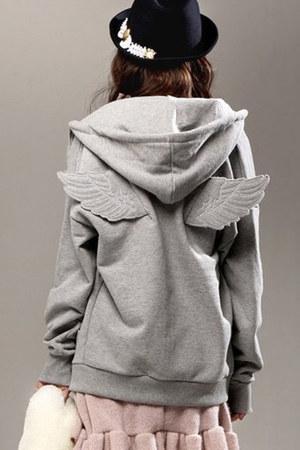 autumn spring Fashionmia hoodie - cotton blend Fashionmia hoodie
