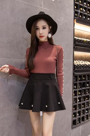 fashion Fashionmia skirt - sexy beading Fashionmia skirt