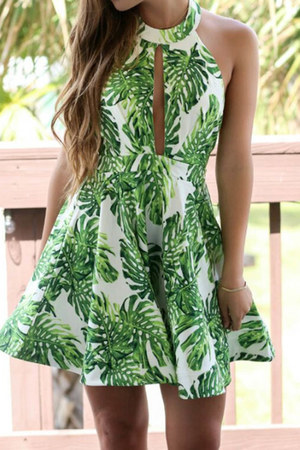 sexy halter Fashionmia dress - Fashionmia dress - Fashionmia dress