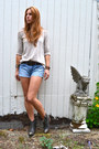 Lucky-brand-boots-urban-outfitters-sweater-denim-urban-outfitters-shorts