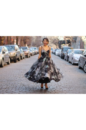 floral tulle milly dress