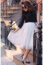 tulle H&M skirt