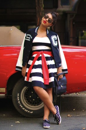 asos jacket - striped Tommy Hilfiger dress
