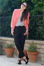 Pink-vintage-from-ramona-west-blazer-black-forever-21-pants-black-steve-madd
