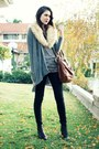 Heather-gray-storets-cardigan-black-wholesale-dress-company-sweater-black-ja