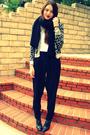 H-m-sweater-urban-outfitters-top-vintage-diy-pants-h-m-scarf-banana-repu