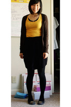 Urban Outfitters necklace - Old Navy sweater - Wet Seal top - Urban Outfitters s