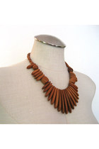 Burnt Orange Necklaces