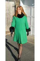 vintage coat - Target tights
