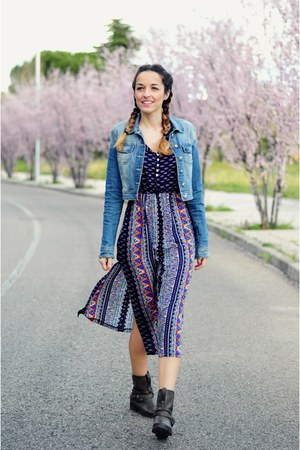 navy bohemian choiescom dress