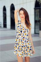 light yellow Choies dress