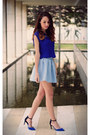 Blue-blouse-bershka-blouse-sky-blue-skirt-bershka-skirt
