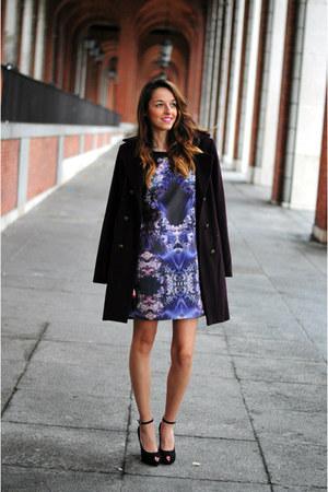 navy Custo dress - black lolitablu heels
