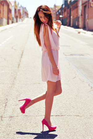 vjstyle dress - suiteblanco heels