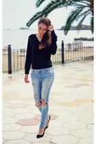 black minano sweatshirt