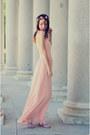 Light-pink-dress-sheinsidecom-dress