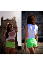 Lefties shorts - Primark t-shirt