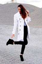 ivory suiteblanco coat