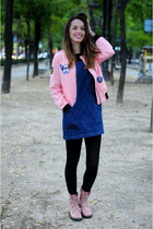 bubble gum shein jacket