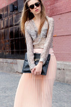 nude H&M skirt