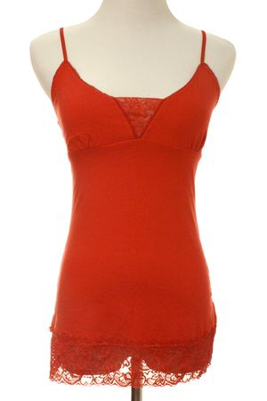 red Guess top