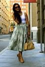 Nude-coach-bag-bronze-cole-haan-heels-white-american-apparel-top