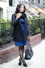 Banana-republic-dress-black-banana-republic-scarf-banana-republic-gloves