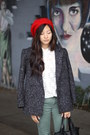 Thrifted-jacket-red-beret-hat-army-green-cargo-asos-pants