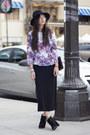 Peplum-h-m-blouse-maxi-gap-skirt-dolce-vita-heels