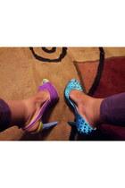 bermuda blue gianni bini heels - ultra violet Jessica Simpson heels