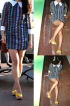 vintage dress - Betsey Johnson shoes