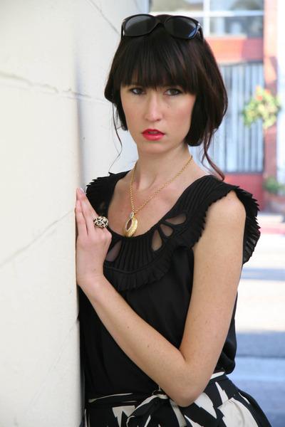 austere pendant Courtney Kaye necklace - arabella ring Courtney Kaye ring
