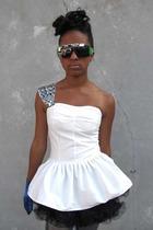 white tube Cowgirl Heaven shirt