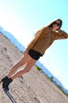 black Chanel boots - Chanel bag - UO romper - Givenchy bracelet