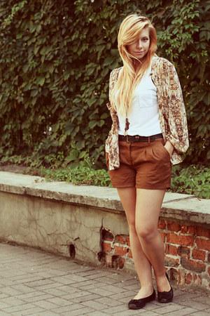 brick red Promod shorts