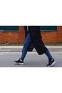 Black-no-brand-coat-beige-reserved-scarf-black-nike-sneakers