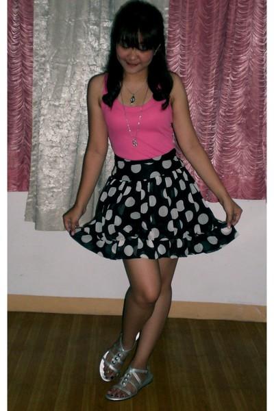 Popstar shirt - skirt - artwork shoes