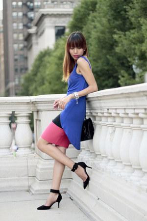 bcbg max azria skirt - Chanel bag - Zara heels