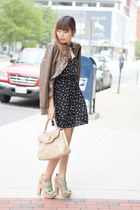 Nordstrom dress - Macys jacket - BCBGeneration wedges