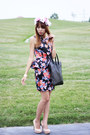 Forever21-dress-givenchy-bag-vince-camuto-heels-diy-hair-accessory