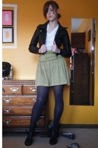 skirt - jacket - shoes