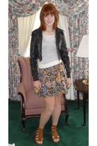 Old Navy top - forever 21 skirt - forever 21 shoes - forever 21 necklace