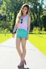 Aquamarine-topshop-shorts-aquamarine-nastygal-sunglasses